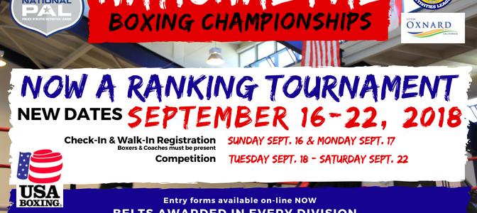NPAL Boxing Anouncement 2018 Front